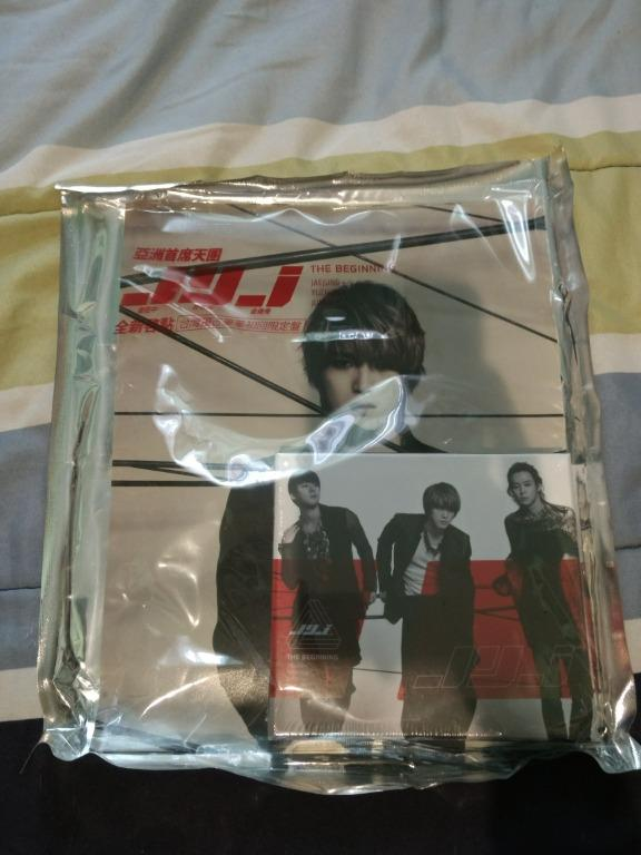 """JYJ """"The Beginning"""" Taiwan Limited Edition"""