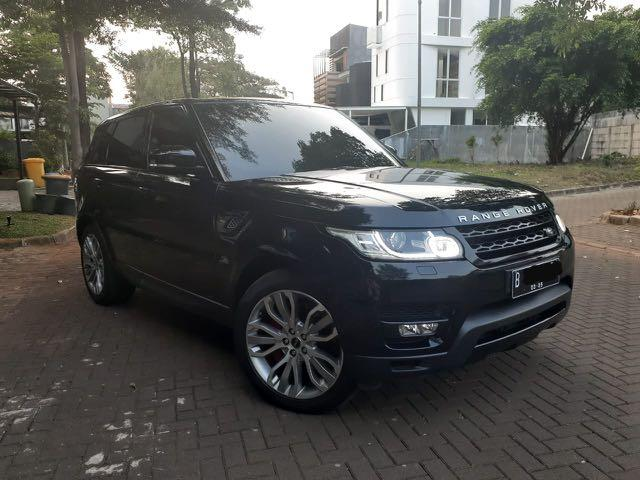 Range Rover Sport Supercharged 5.0 2014