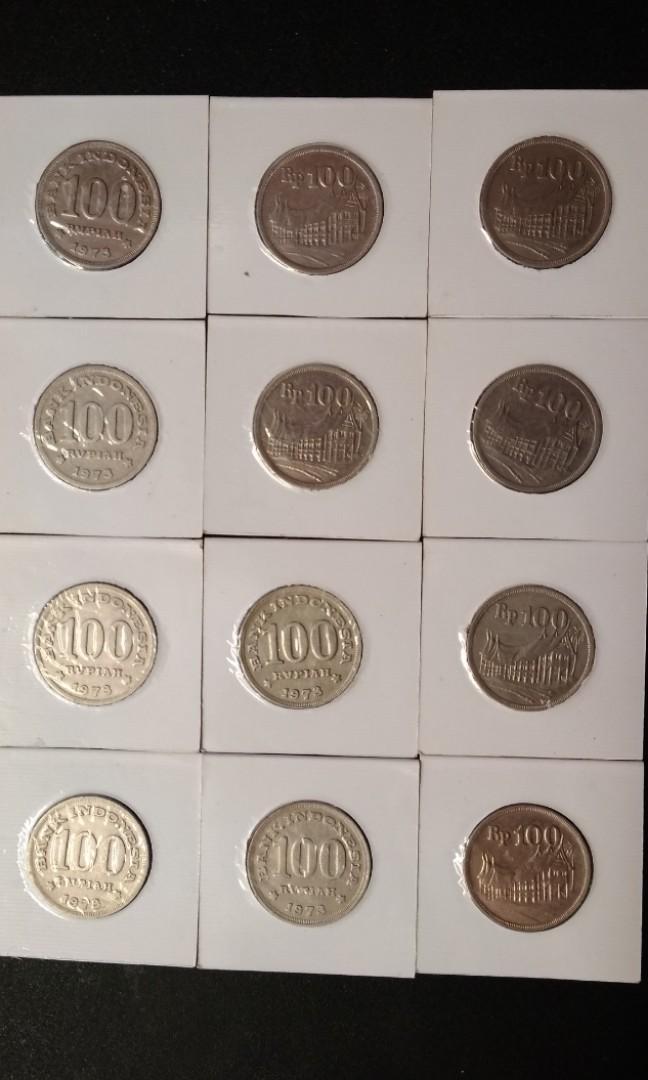 Uang koin rp 100 1973
