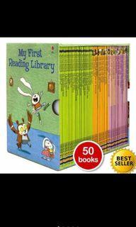 Usborne First Library Book Set buku cerita TK SD