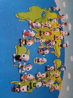 1999 McDonald's World Tour Snoopy around the world