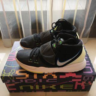 (9成5新)Nike KYRIE 6 EP 厄文黑夜光US9.5 百貨公司購入附鞋盒