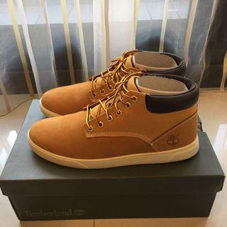 (9成5新)Timberland 經典小麥黃休閒鞋US9.5 百貨公司購入附鞋盒