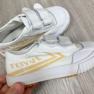 男女童飛躍鞋 小白鞋 16.5cm