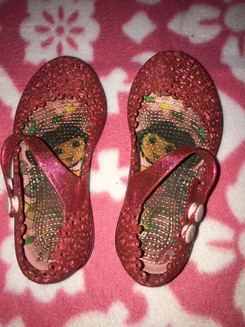 Authentic Dora Red Jelly shoes and