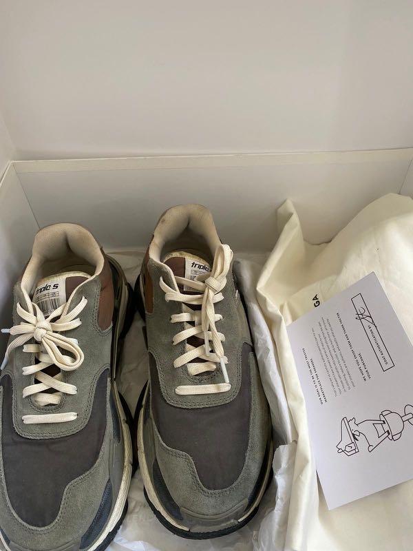 Balenciaga Triple S 1.0 (Grey), Men's