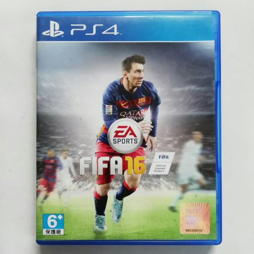 FIFA 16 PS4 Original 2016 Kaset CD Playstation 4 BD