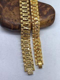 gold plate Bracelet 镀金手链