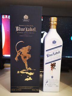 Johnnie Walker Blue Label - 2016 Year of Monkey, Special Edition, 藍牌猴年特別版