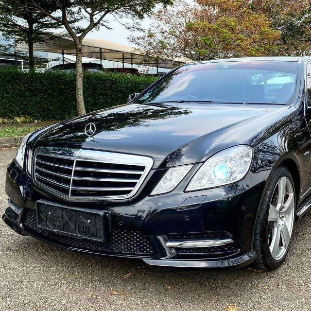 MERCEDES BENZ E250 W212 AVG AMG 2012
