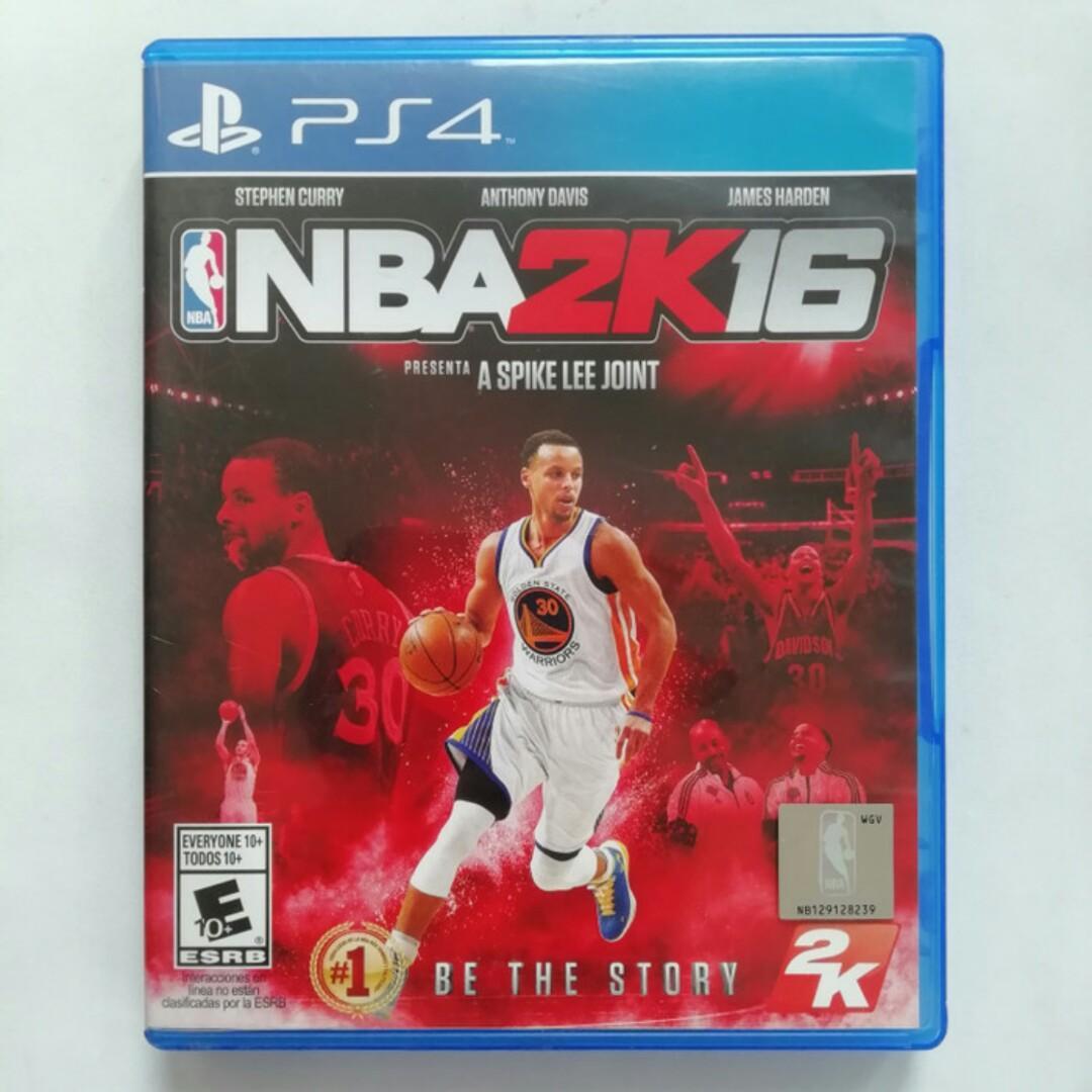 NBA 2K16 PS4 Original 2016 Kaset CD Playstation 4 BD