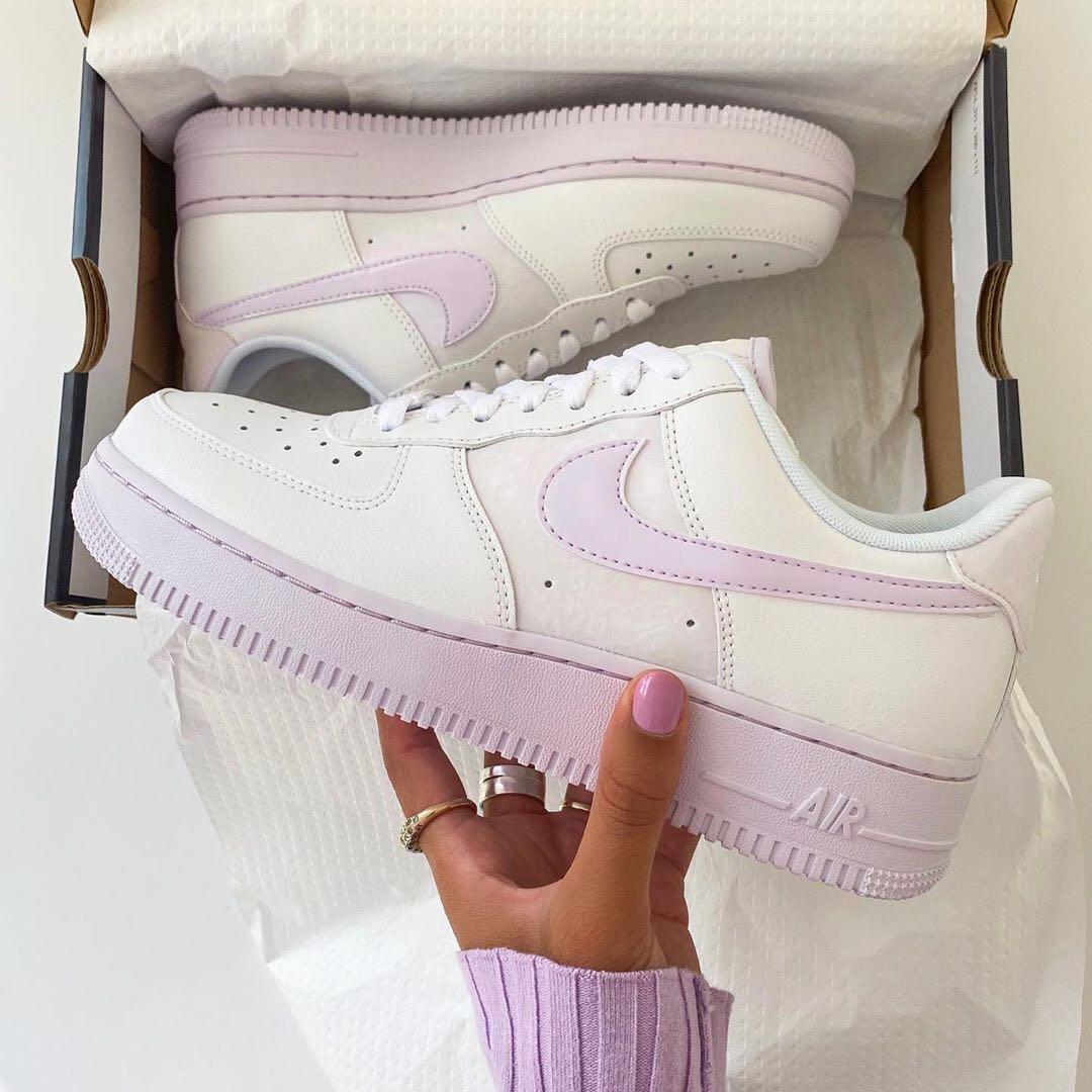 Nike Air Force 1 Pastel Purple, Women's