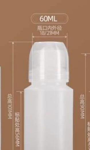 Plastic bottles with dropper for 10 (10)