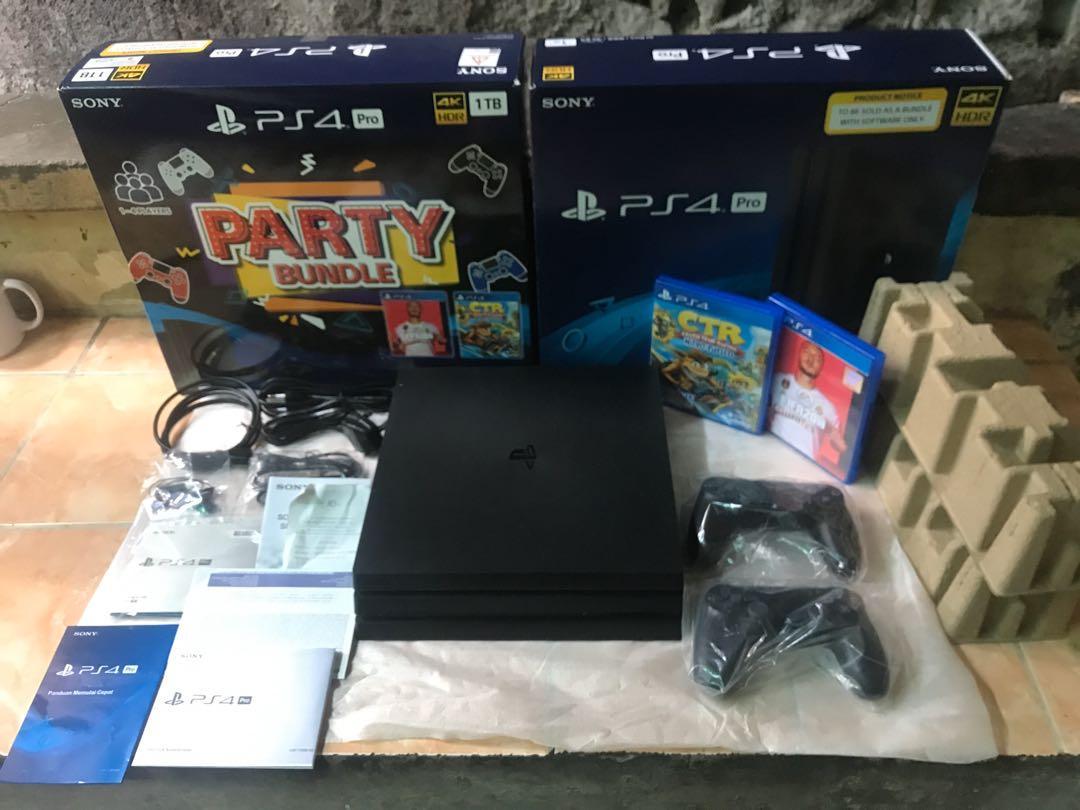 Playstation 4 pro seri terbaru 7218 garansi panjang