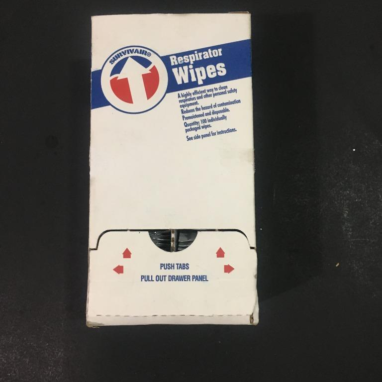 Survivair Respirator Wipes (100 pk)