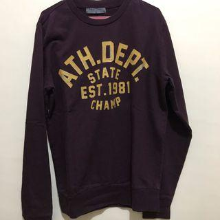 Sweatshirt Giordano - Crewneck Giordano - Baju Giordano
