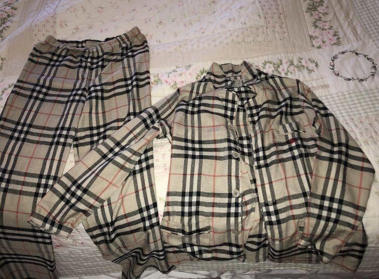 Youth Burberry pyjamas