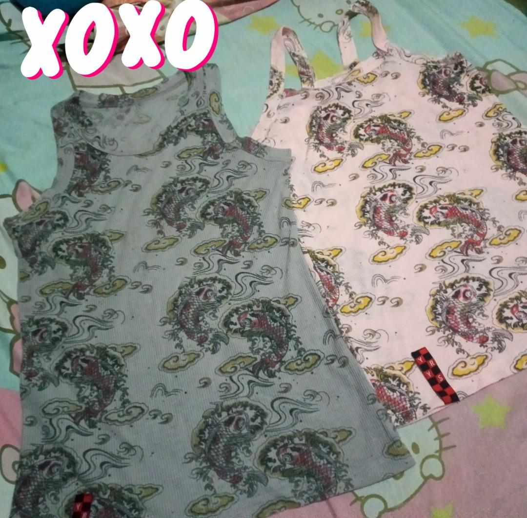 Yrys Sleeveless Top Women S Fashion Clothes Tops On Carousell