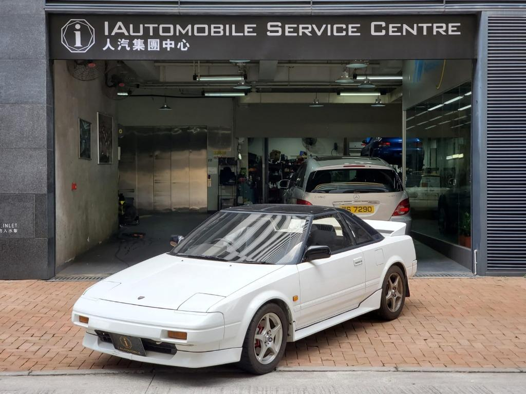 1987 Toyota MR2 supercharged AW11