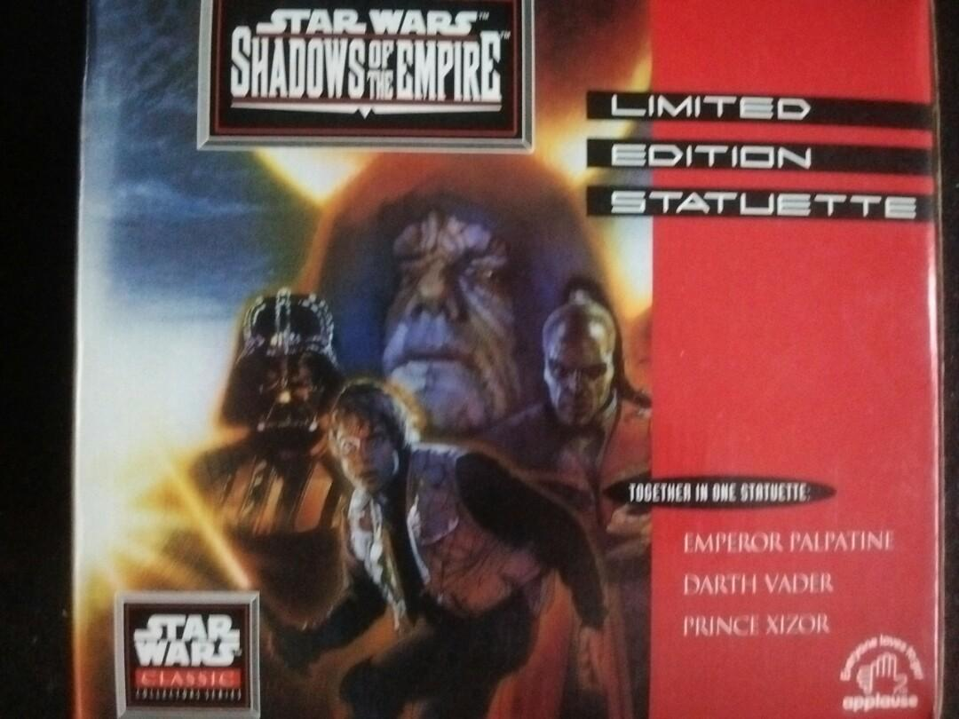 1996 Star Wars Shadows of the Empire. 4922-5000 LIMITED EDITION STATUETTE