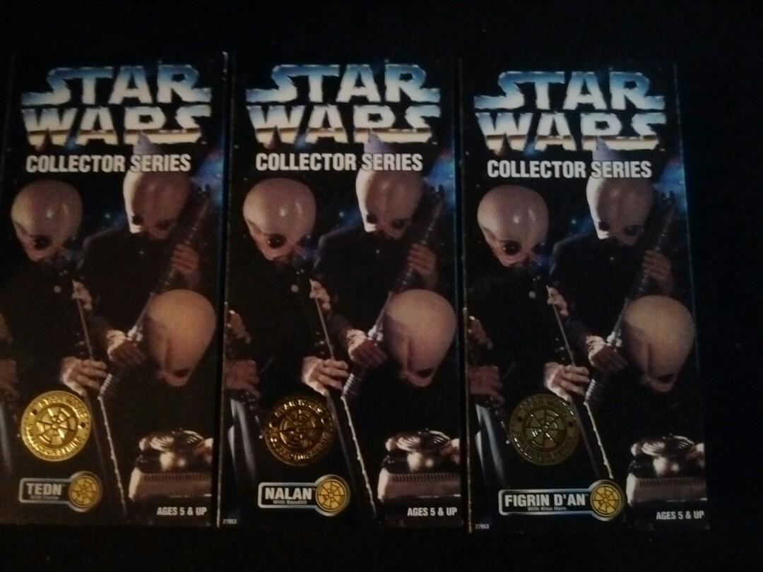 """1997 KENNER 12""""COLLECTOR SERIES Action Figure  CANTINA BAND"""