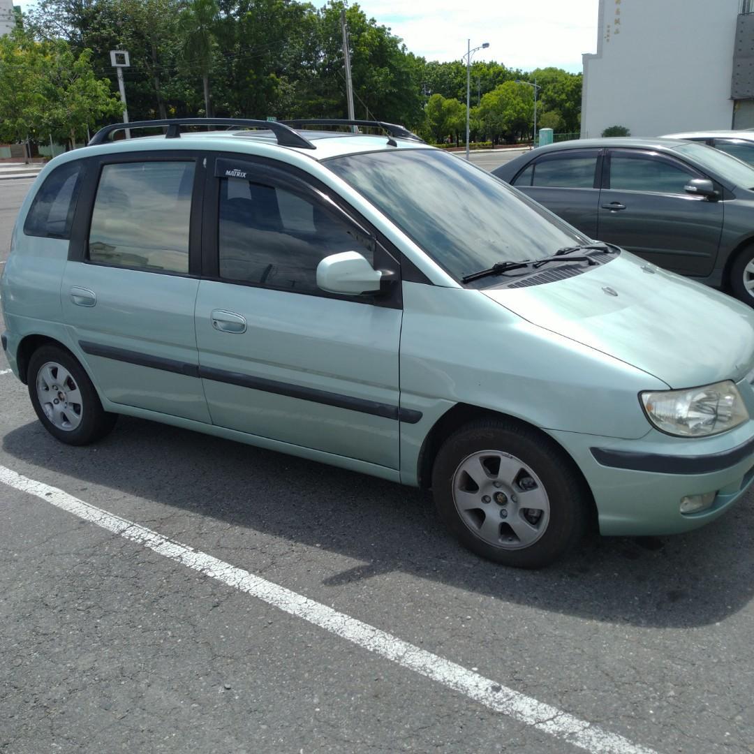 現代2003matrix1.8五門大空間休旅車