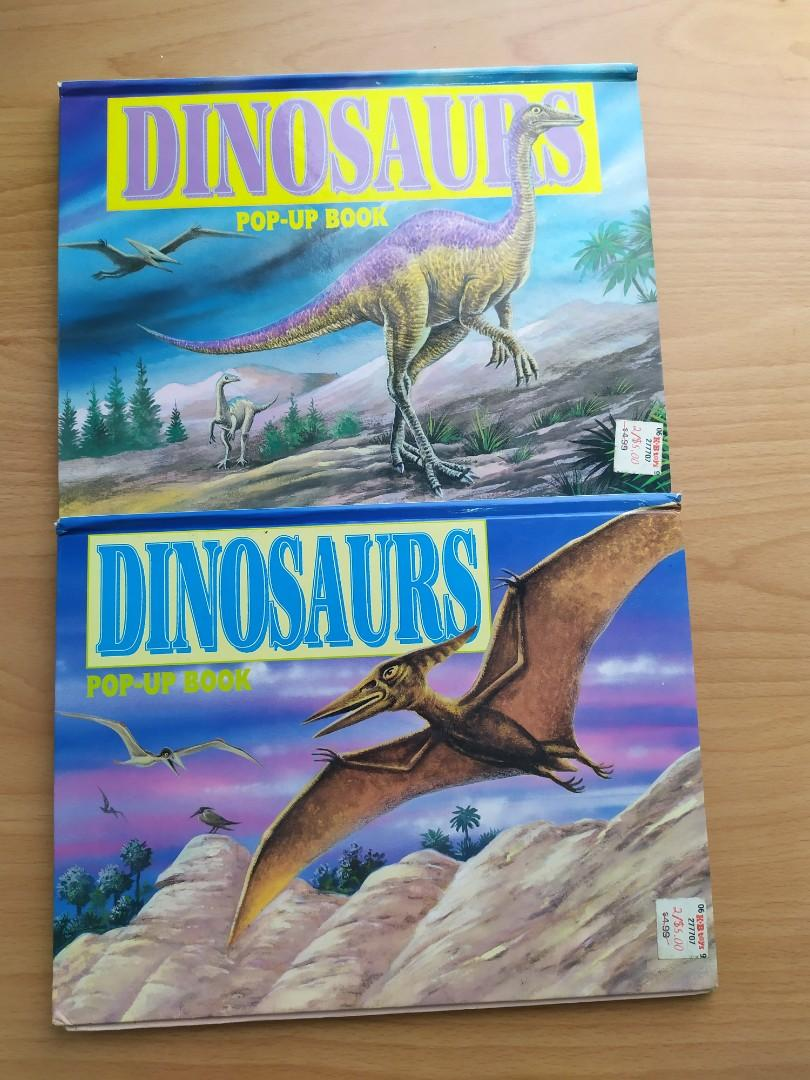 恐龍立體原文書