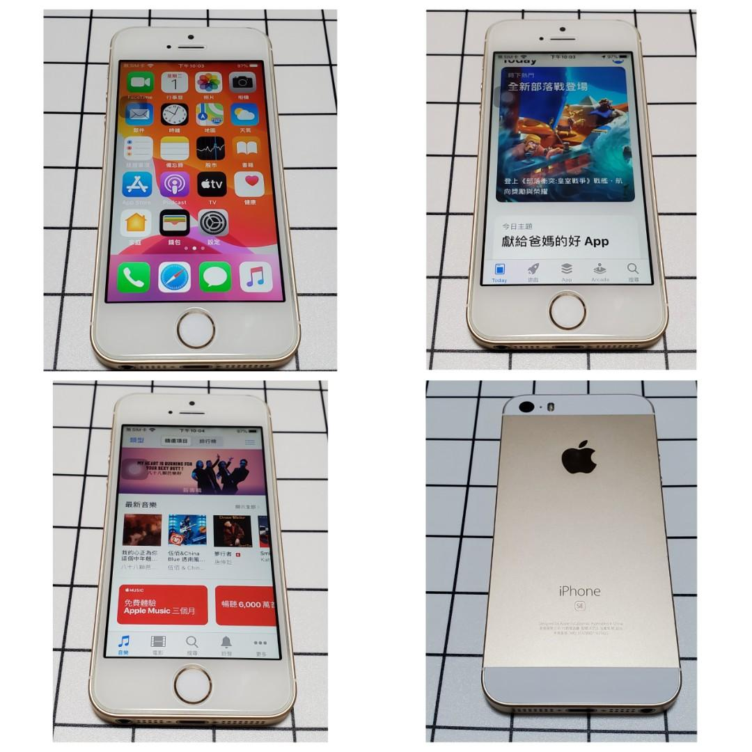 Apple iPhone SE 16GB 金色