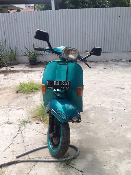 Sepeda Custom Vespa