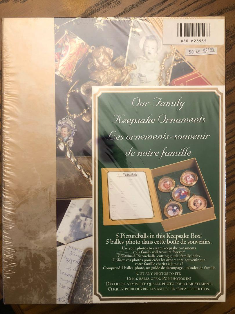 BNIB Special Family Ornament Keepsake Box