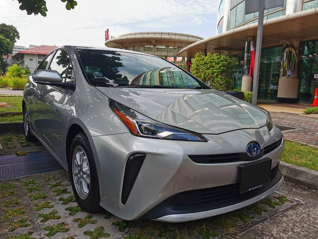 """Brand New Facelift Toyota Prius Hybrid 1.8A for Rental (Click on """"read more"""" for more details)"""