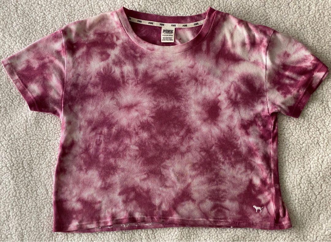 BRAND NEW Victoria's Secret Pink tie dye t-shirt