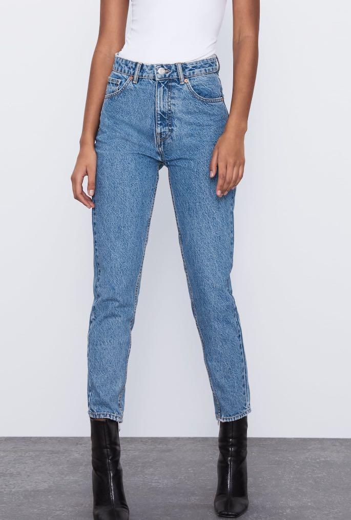 BNWT Zara Mom Fit Jeans