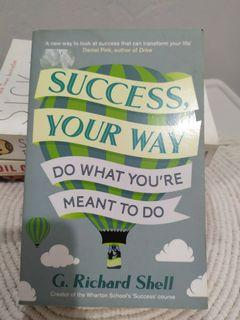 [buku impor] success, your way do what you're meant to do by G. Richard Shell