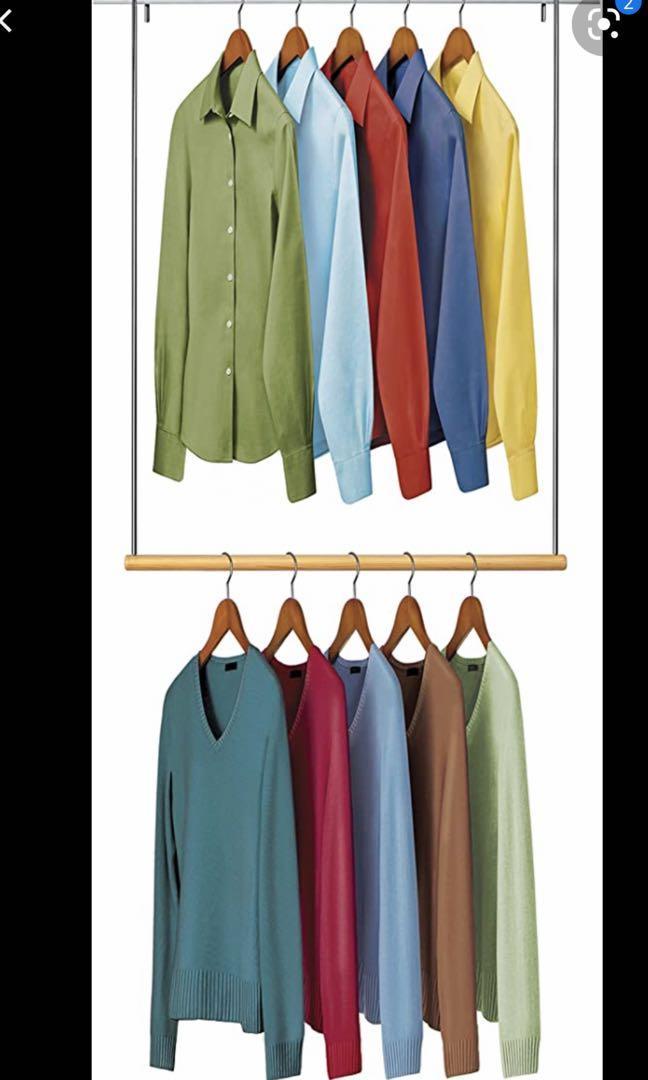 Closet Clothing Rods (set of 3)