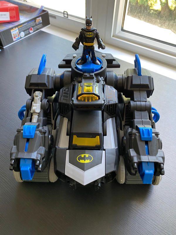 DC Super Friends Batman Imaginext R/C Transforming Batbot Vehicle