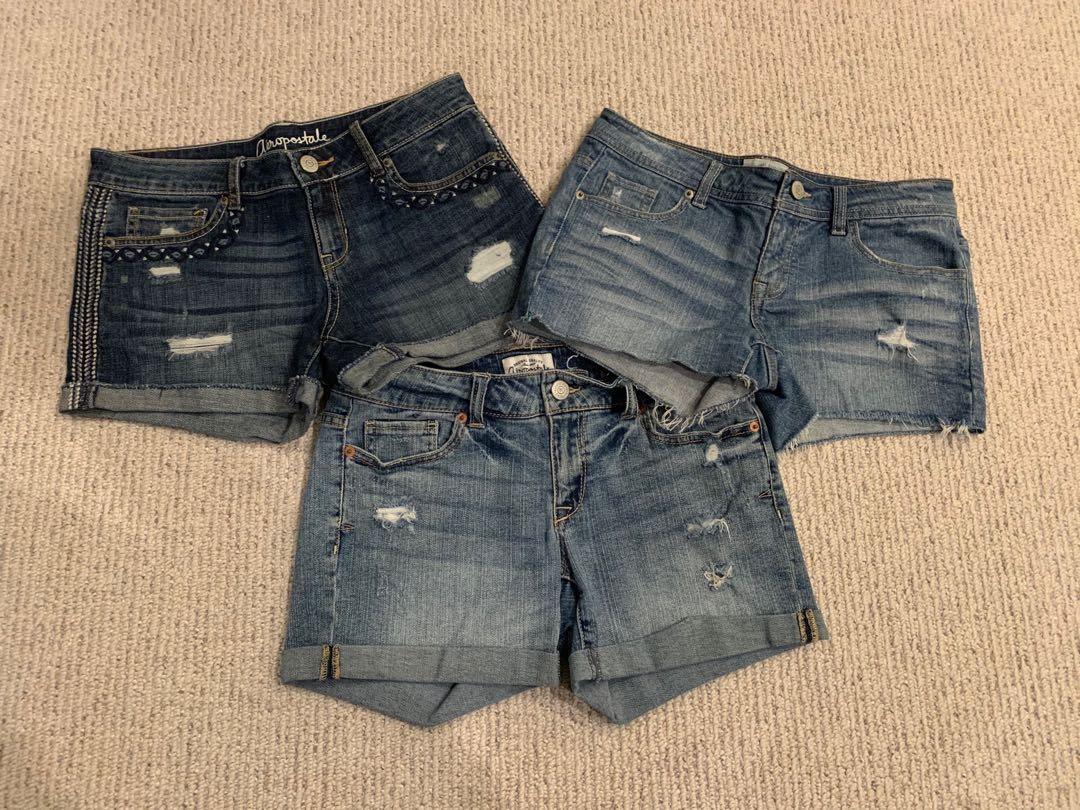 Denim  Shorts (3 pairs)