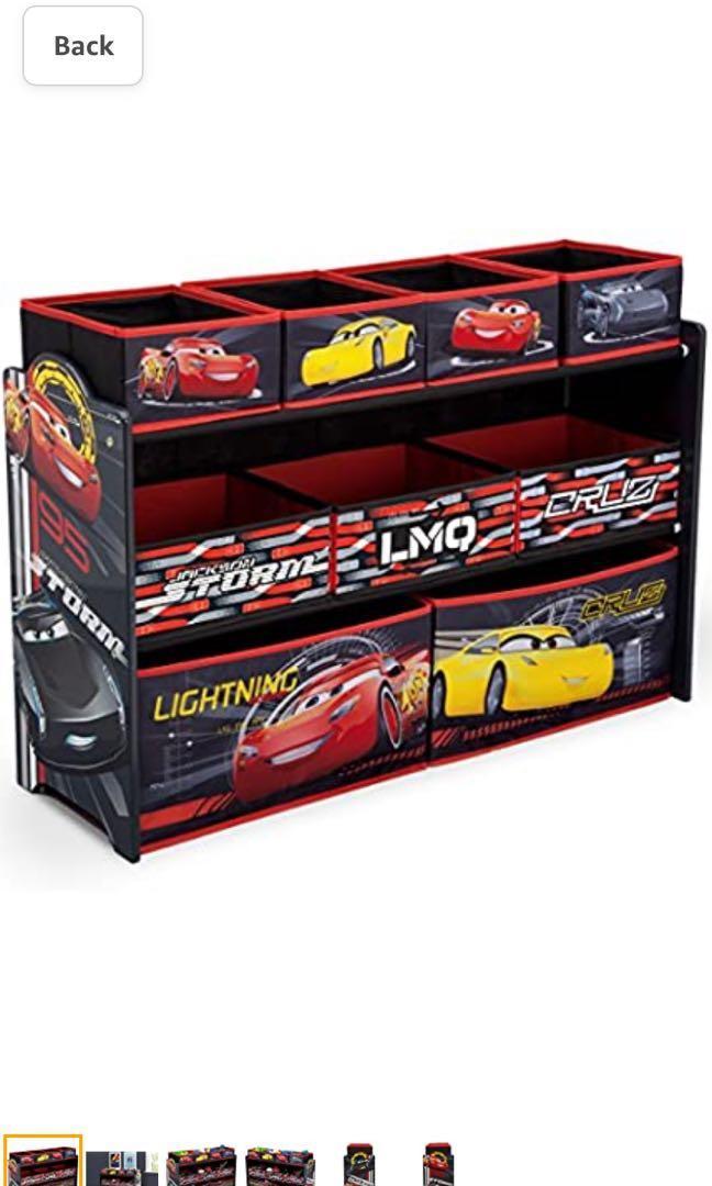 Disney cars toy storage