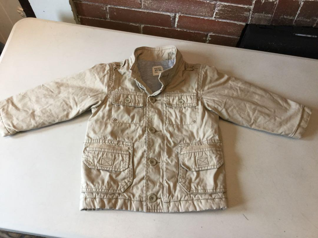 Fall Old navy jacket size 3/4 t-$10