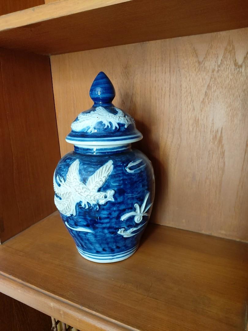 Guci china kuno Keramik vase chinese antik vas naga dragon
