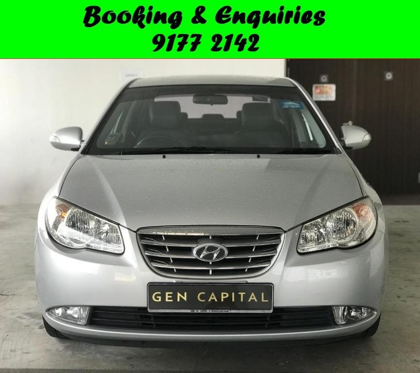Hyundai Avante. 2 Weeks Promotional Rate given to early bird!Personal Usage, PHV, Grab ! Rent Car ! Car Rental ! Cheap Rental Car !.$500 deposit only. Whatsapp 9177 2142 to reserve now.
