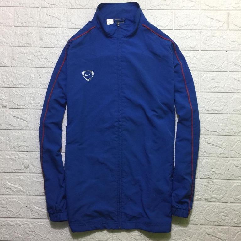 Jaket Olahraga Tracktop Nike (Blue)
