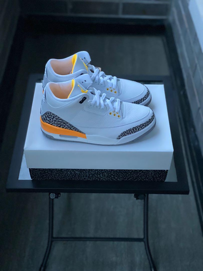 Jordan 3 Retro Laser Orange (WOMEN) Size 9