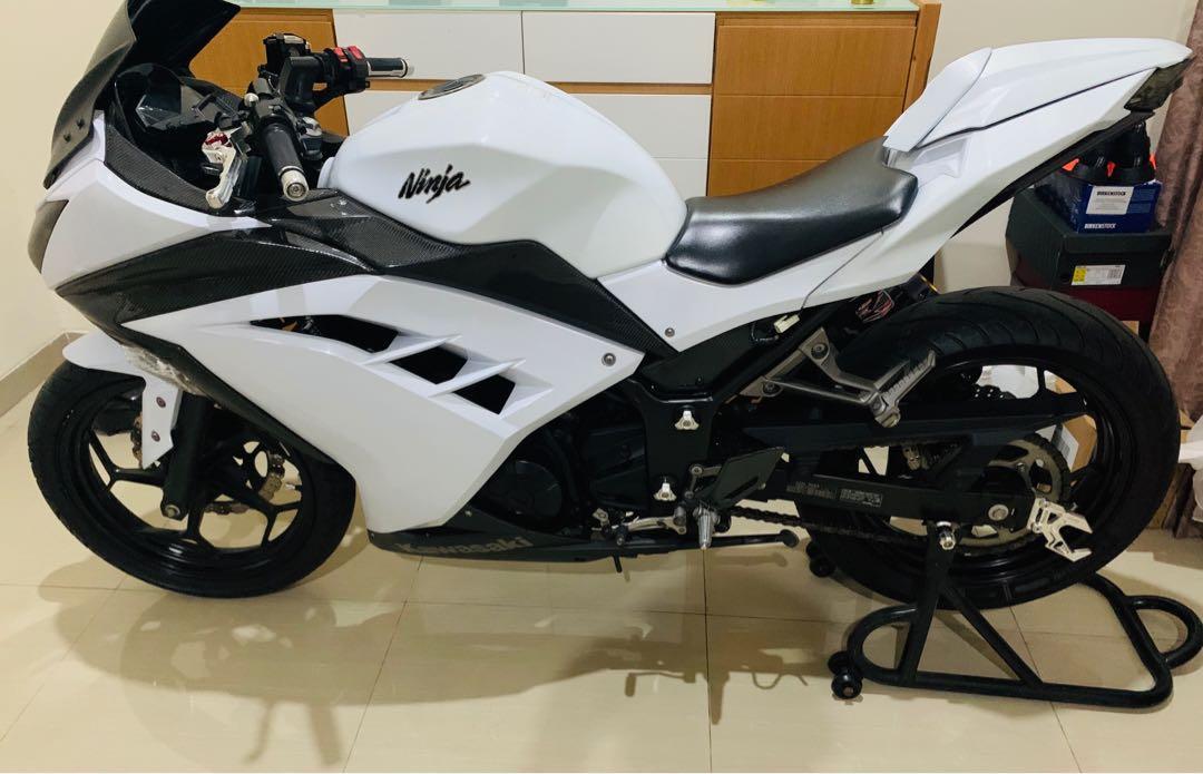 Kawasaki ninja 250 cc fi