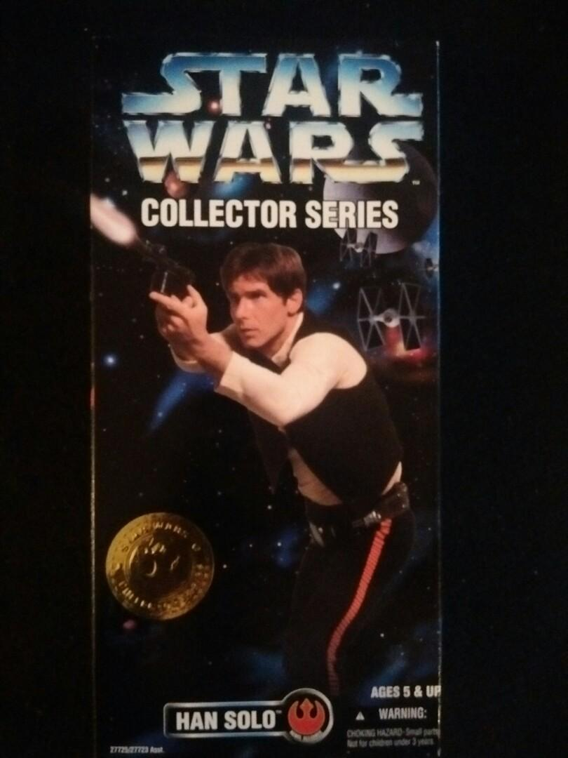 "Kenner 1996 12"" Han Solo Star Wars Collectors Series"