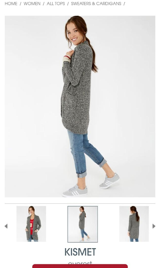New Kismet Cabin Cocoon Sweater S/M