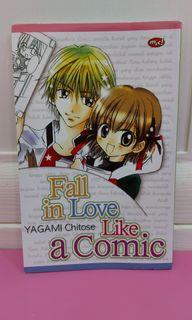 "Komik satuan ""Fall in Love Like a Comic"""