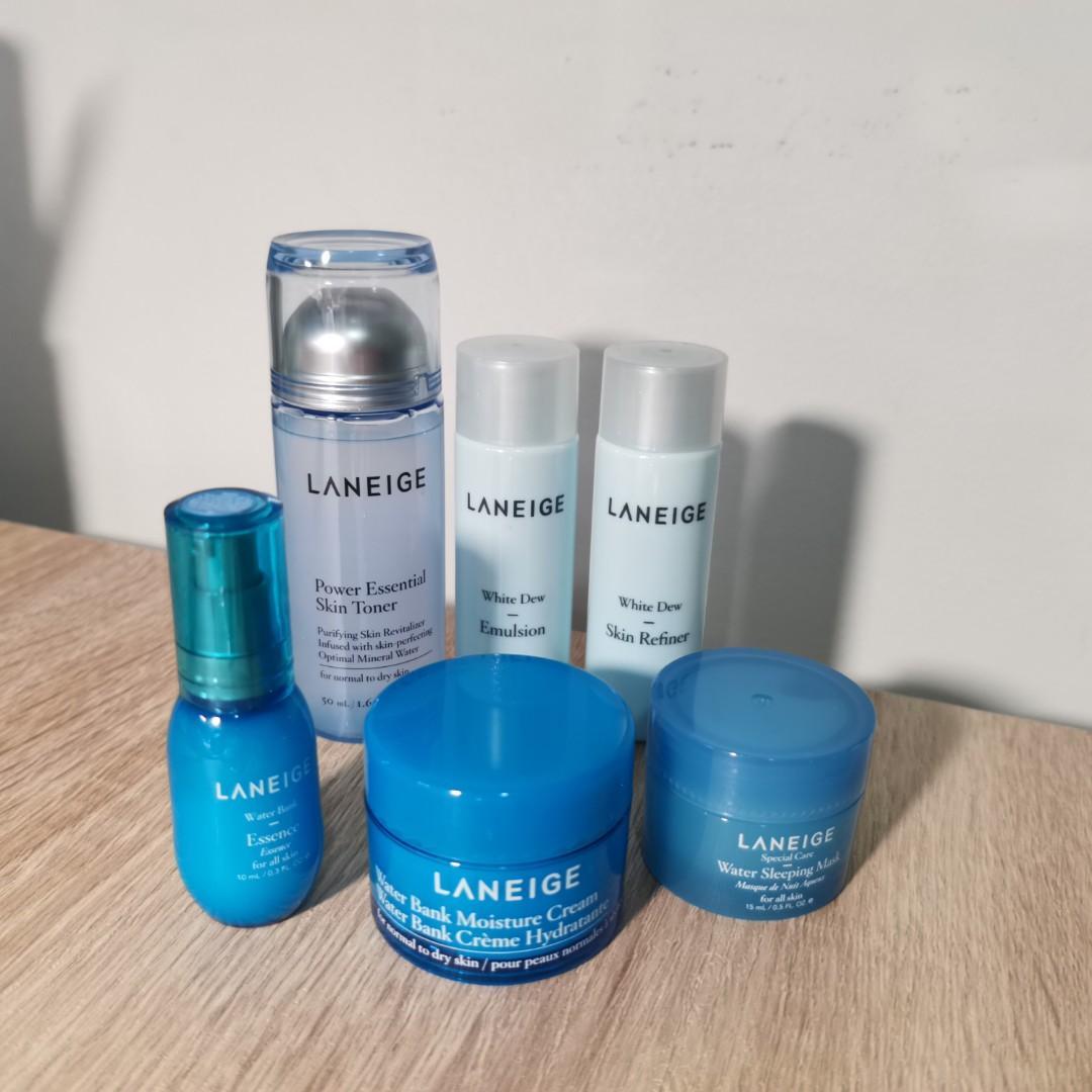 Laneige skin care travel size set