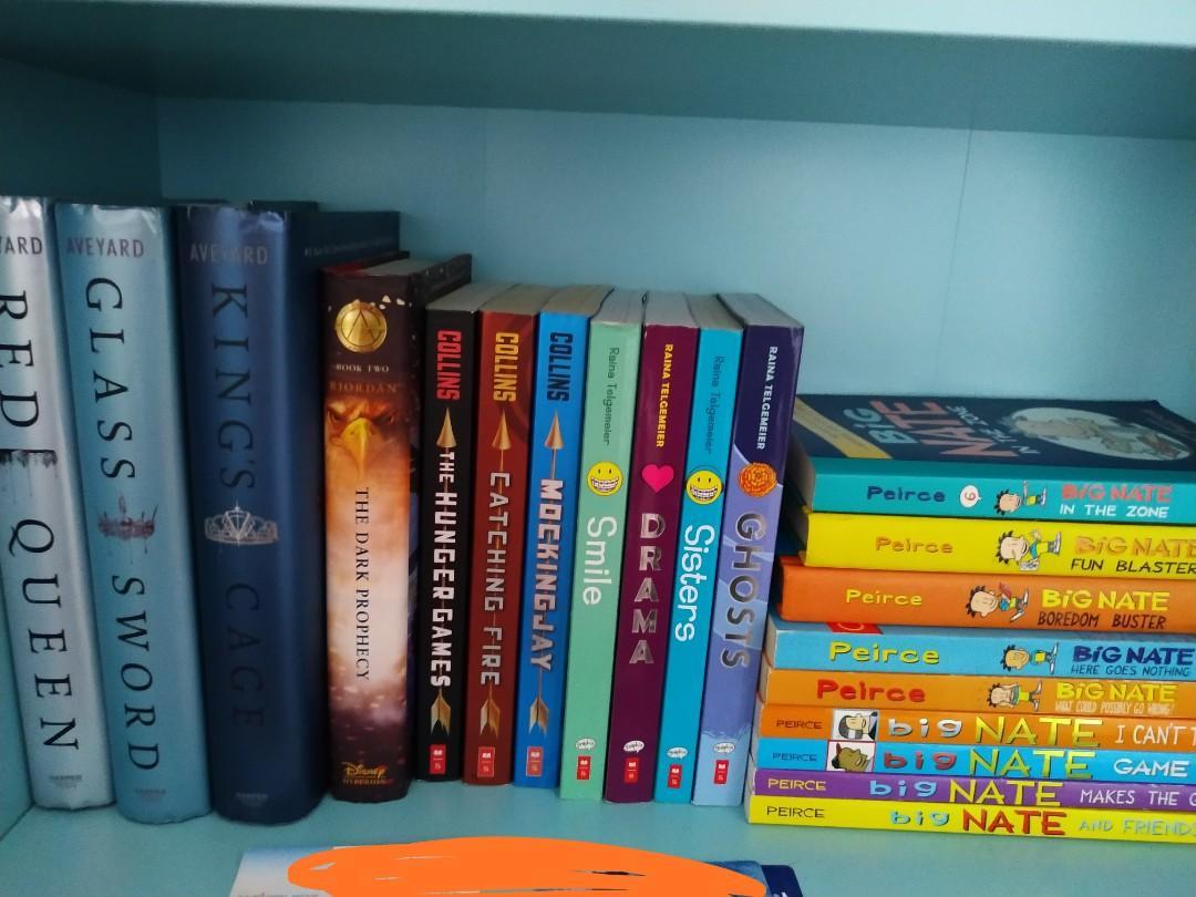 lotta books