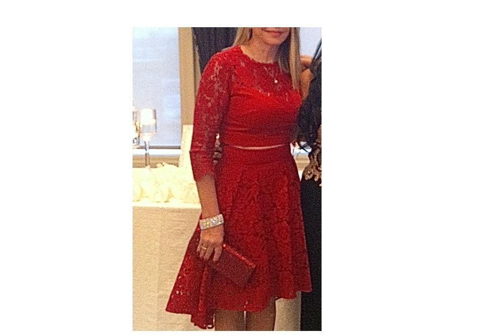 Marciano 2-Piece Evening Dress